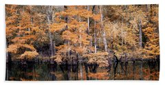 Autumn Along The Waccamaw Hand Towel