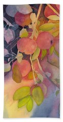 Autumn Apples Full Painting Hand Towel