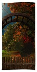 Autumn Archway Hand Towel