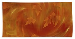 Autumn Art - Autumn Rhapsody By Rgiada Bath Towel by Giada Rossi