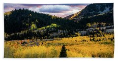 Autumn At Guardsman Pass Bath Towel