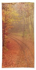 Autumn At Lake Harriet  Hand Towel