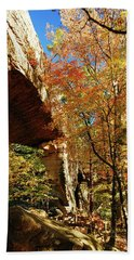 Autumn At Natural Bridge State Resort Hand Towel