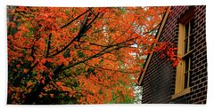 Autumn At The Window Hand Towel