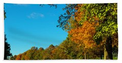 Autumn At World's End Hand Towel