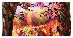 Autumn Beauty Hand Towel by Natalie Holland