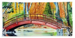 Autumn Beauty Hand Towel by Tom Riggs