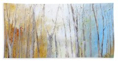 Autumn Bliss Hand Towel by Dina Dargo