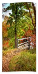 Autumn Bridge Hand Towel