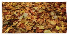 Autumn Carpet Bath Towel