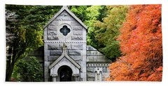 Autumn Chapel Hand Towel by Betty Denise