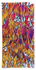 Bath Towel featuring the photograph Autumn Color by Diane Miller