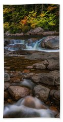 Bath Towel featuring the photograph Autumn Colors In White Mountains New Hampshire by Ranjay Mitra