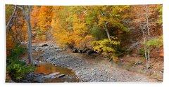 Autumn Creek  1 Hand Towel