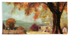 Autumn Dreams Hand Towel