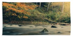 Hand Towel featuring the photograph Autumn Dreamscape by Shane Holsclaw