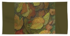 Autumn Falling Hand Towel