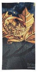 Autumn Fashion Diamonds Hand Towel