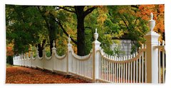 Autumn Fencing Hand Towel