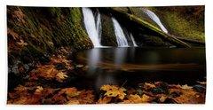 Autumn Flashback Bath Towel