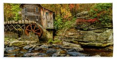 Autumn Glade Creek Grist Mill  Hand Towel