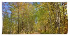 Autumn Hike Bath Towel