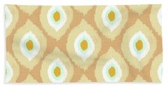 Autumn Ikat- Art By Linda Woods Bath Towel