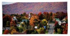 Autumn In Danville Vermont Hand Towel