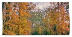 Autumn In East Texas Bath Towel