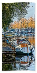 Autumn In Holland-2 Hand Towel