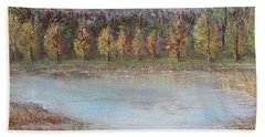 Autumn In Maule Hand Towel