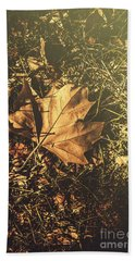 Bath Towel featuring the photograph Autumn In Narrandera by Jorgo Photography - Wall Art Gallery