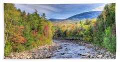 Autumn In New Hampshire Bath Towel