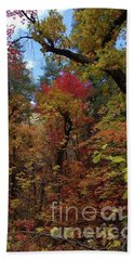 Autumn In Sedona Bath Towel