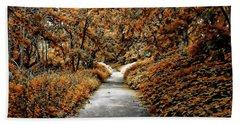 Autumn In Stamford Hand Towel