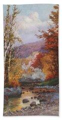 Autumn In The Berkshires Bath Towel