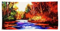 Autumn In The Deep Forest Bath Towel