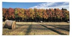 Autumn In The Fields Bath Towel
