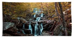 Autumn In The Mountains Bath Towel by Rebecca Davis