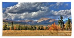 Autumn In The Rockies Hand Towel