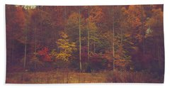 Autumn In West Virginia Bath Towel