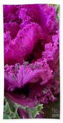 Autumn Kale Hand Towel by Patricia E Sundik