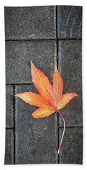 Autumn Leaf Hand Towel