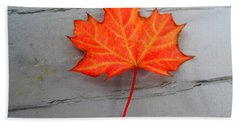 Autumn Leaf Bath Towel