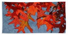 Autumn Leaves 19 Hand Towel