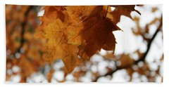 Autumn Leaves- By Linda Woods Hand Towel