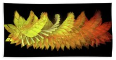 Autumn Leaves - Composition 2.3 Hand Towel