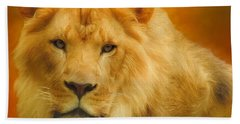 Autumn Lion Bath Towel