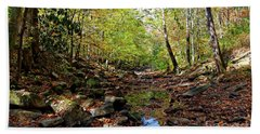 Bath Towel featuring the photograph Autumn Magical Colors by Paul Mashburn