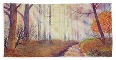 Autumn Memories Hand Towel